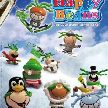 WINTER HAPPY BEANS POP CARD